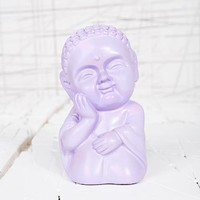 Buddha Love Money Bank in Purple at Urban Outfitters