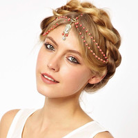 Accessory Stylish Vintage Hair Accessories Hairband [8026332551]