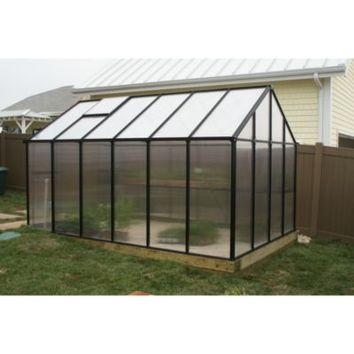 Riverstone Monticello 16-Foot in terior Shade Cloth System for 16-Foot Greenhouse
