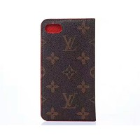 LV Louis Vuitton tide brand classic pattern iphonex off the protective cover F-OF-SJK #3