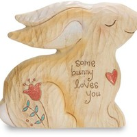 Some Bunny Loves You Self Stand Figurine