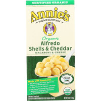 Organic Alfredo Shells and Cheddar Cheese - 6 oz