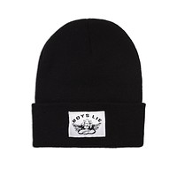 Boys Lie Beanie - Black