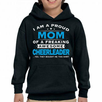 Cheerleader Mom - mother's day - Mother's gift Youth Hoodie