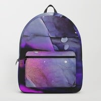A Violet Gaze Backpack by duckyb