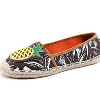 Women's Espadrilles with Appliqués  Pineapple