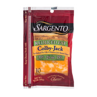 Sargento Reduced Fat Colby-Jack Cheese Slices - 10 CT - Walmart.com