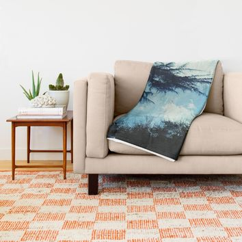 In the Wind Throw Blanket by Ducky B