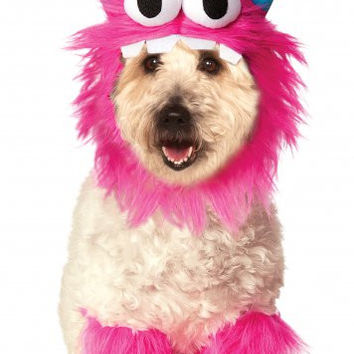 Pink Monster Dog Costume Set