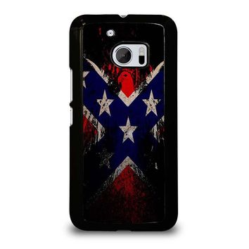 BROWNING REBEL FLAG  HTC One M10 Case Cover