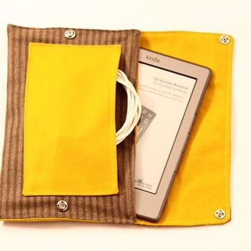 Kindle Cover Sewing Pattern - Kindle Paperwhite PDF tutorial, Kobo, Nook, Sony eReader