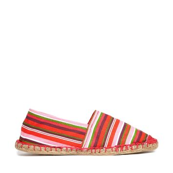London Rebel Stripe Espadrille - Multi