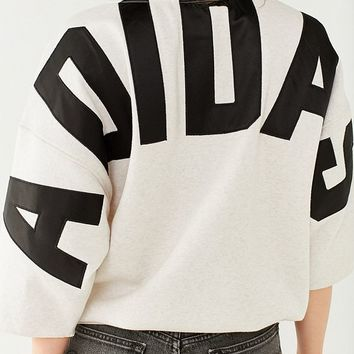 adidas Originals 3/4-Sleeve Sweatshirt | Urban Outfitters