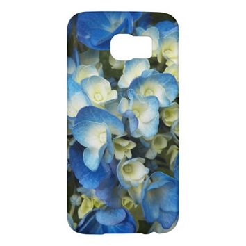 Blue Blossoms Floral Samsung Galaxy S6 Cases