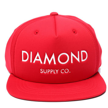 Diamond Supply Co. - Diamond Classic Snapback - Red