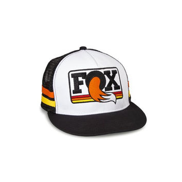 FOX Heritage Trucker Hat O/S Black/white