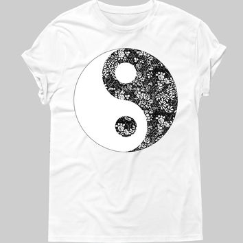 Ying And Yang Graphic Tee