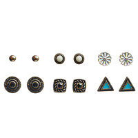 Eclectic Boho Earring Set | Wet Seal