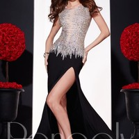 Panoply Sexy Fitted Gown 14714