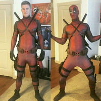 DeadPool Full Body Spandex Halloween Costume