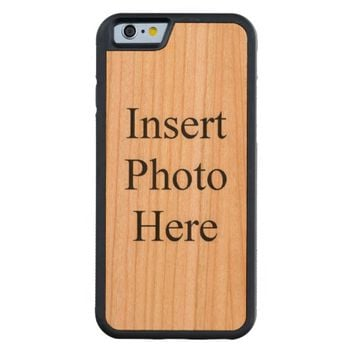 Personalized Carved® Cherry iPhone 6 Bumper Case