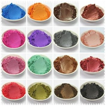 LMF57D 30g  Healthy Natural Mineral Mica Powder Diy For Soap Dye Soap Colorant  makeup eyeshadow Soap Powder  Free Shipping