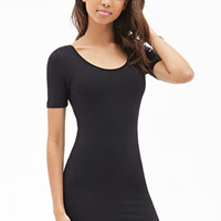 FOREVER 21 Scoop Back Bodycon Dress
