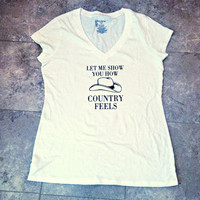 Randy Houser Shirt How Country Feels