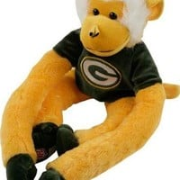 NFL Green Bay Packers 27 Jersey Monkey Plush, Green