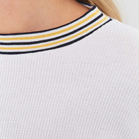 Urban Outfitters Tipped Waffle Top - Urban Outfitters