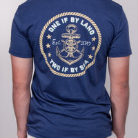 The Revere Short Sleeve Pocket Tee Shirt - Navy | Rowdy Gentleman