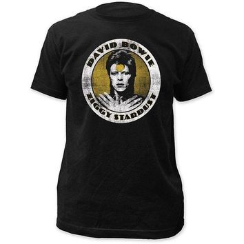 CREYXT3 David Bowie - Ziggy Stardust Distressed T-shirt - BRAND NEW T Shirt O-Neck Fashion Casual High Quality Print T Shirt