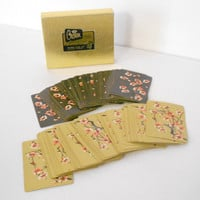Japanese Cherry Blossom Playing Cards Crown Heines Publishing Company Minnesota