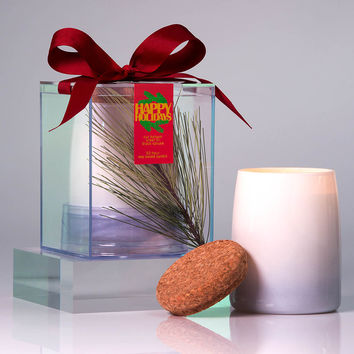 Michael Anthony Furniture Happy Holidays Frasier Fir Scented Soy Candle
