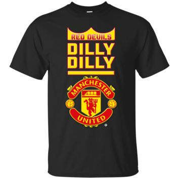 Manchester United : Dilly Dilly : G200 Gildan Ultra Cotton T-Shirt