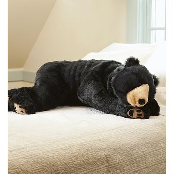 Bear Hug Body Pillow | Animal Body Pillows | Plow & Hearth