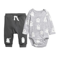 H&M Cotton Bodysuit and Pants $14.99
