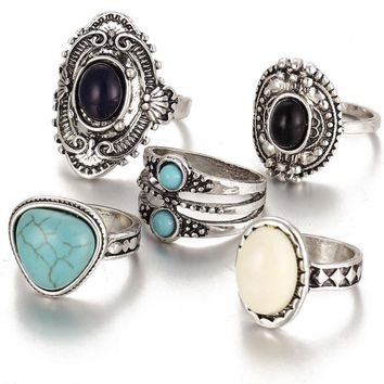 La Vie Boheme Ring Set