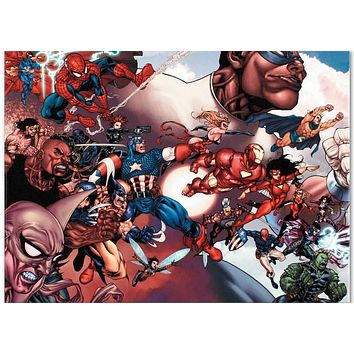 What If? Civil War #1 - Limited Edition Giclee on Stretched Canvas by Harvey Tolibao and Marvel Comics
