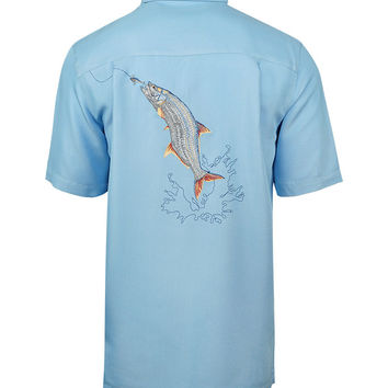 Men's Tarpon Bend Embroidered Fishing Shirt