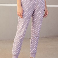 Reverse Weave All Over Print Jogger Pants | PacSun