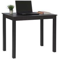 Best Choice Products Writing Study Desk With Drawer- Black - Walmart.com