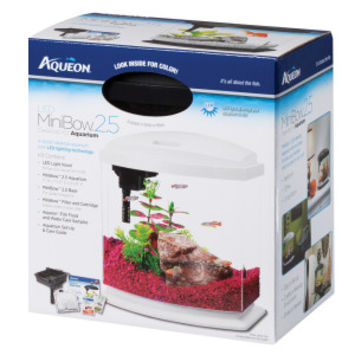 Aqueon® LED Mini Bow Aquarium Kit | Aquariums | PetSmart