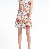 Print Sheath Dress | Banana Republic