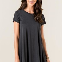 Delia knit shift dress