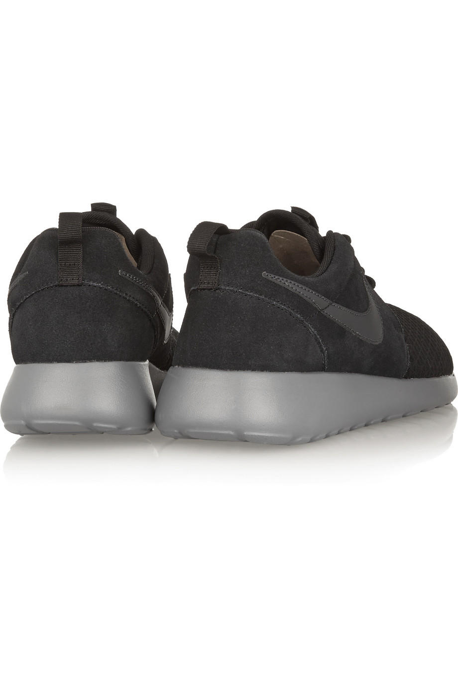 timeless design 314a7 ea598 Nike - Roshe Run Winter mesh and suede sneakers