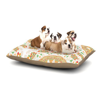 "Miranda Mol ""Bohemian Bright"" Geometric Multicolor Dog Bed"