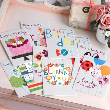 Glitter Birthday Greeting Card