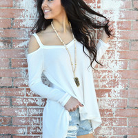 Free The People Thermal Top- Ivory- FINAL SALE