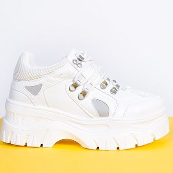Winner Takes All Chunky Platform Sneaker